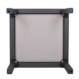Stół ze szklanym blatem Sumatra 94x94