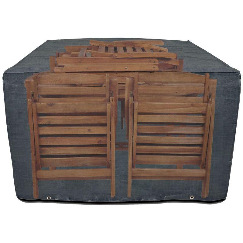 Pokrowiec na meble ogrodowe drewniane 150x140x90 cm