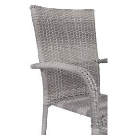 Krzesło z technorattanu Fiesta