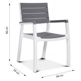 Krzesło sztaplowane Torino