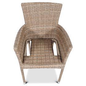 Fotel z technorattanu Lerida