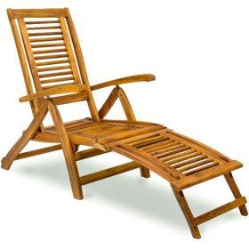 Leżak drewniany SUNBED