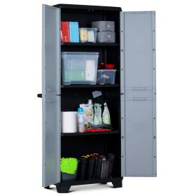 Szafa plastikowa z półkami LINEAR High Cabinet
