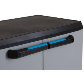 Linear Cabinet LOW - Kompaktowa szafa z polipropylenu