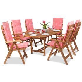 Poduszka na krzesło ogrodowe ACA 120x50