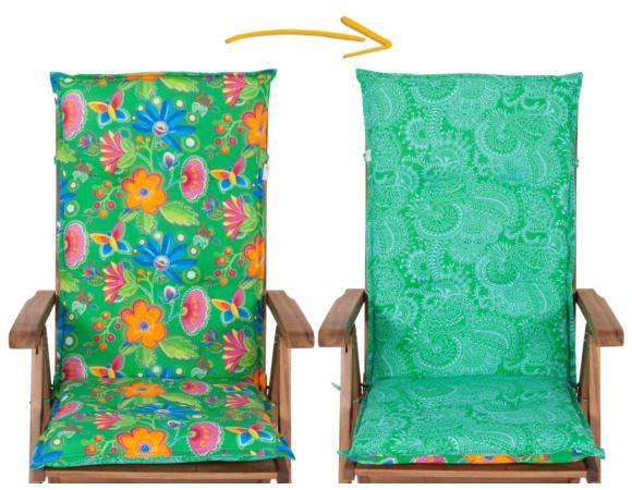 Poduszka na Krzesło ogrodowe Dwustronna