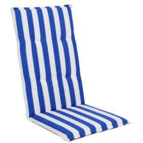 Poduszka ACA w pasy BLUE 506-02