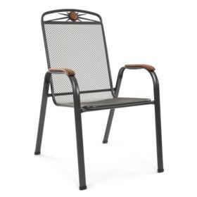 Krzesł z metalowej siatki ATHEN
