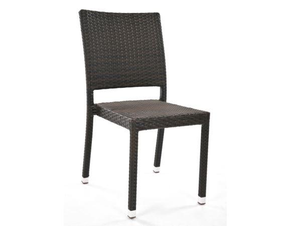 Krzesło z technorattanu WIEN mocca