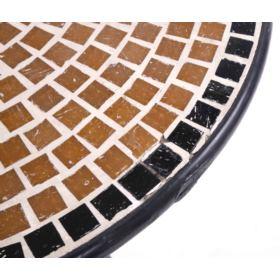 Zestaw mebli metalowych VIENNA 2+1 z poduszkami