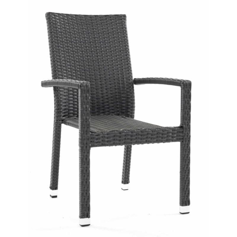 Krzesło z technorattanu MAYA