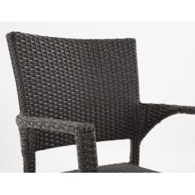 Krzesło z technorattanu LISA