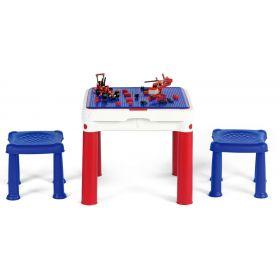 Stolik na klocki typu Lego Construct Table