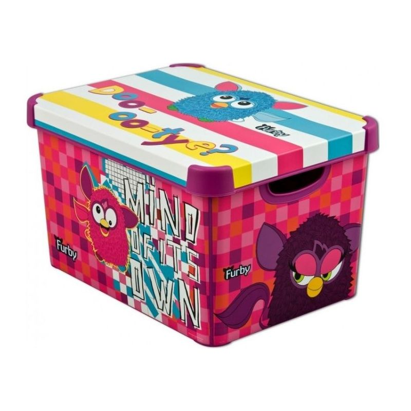Pudełko na klocki Furby