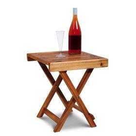 Drewniany stolik ogrodowy Kennedy