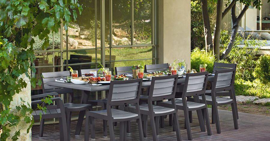 meble ogrodowe z tworzyw sztucznych torino
