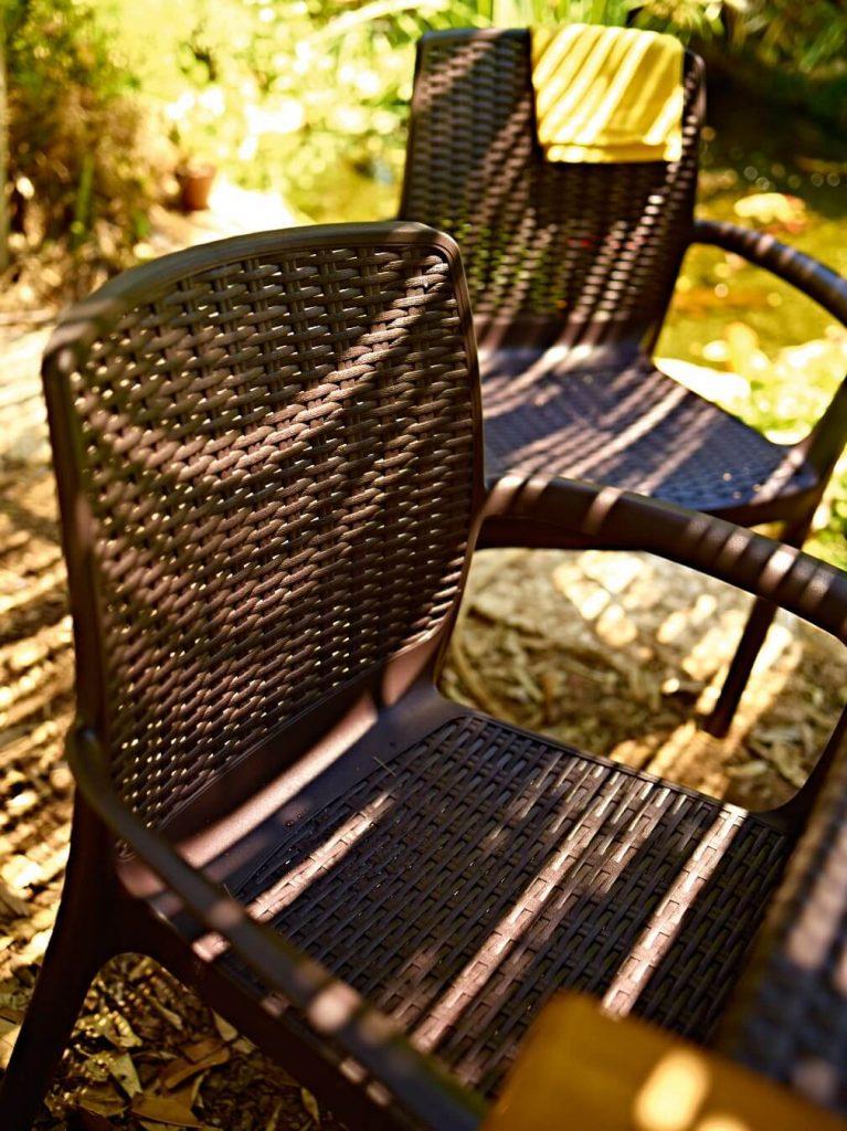 Allibert Krzesło plastikowe Bali Mono