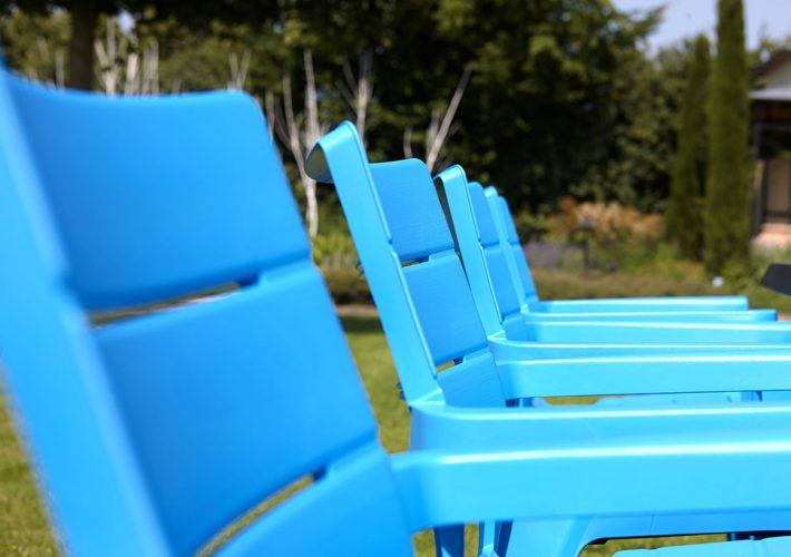 Krzesło plastikowe Ibiza
