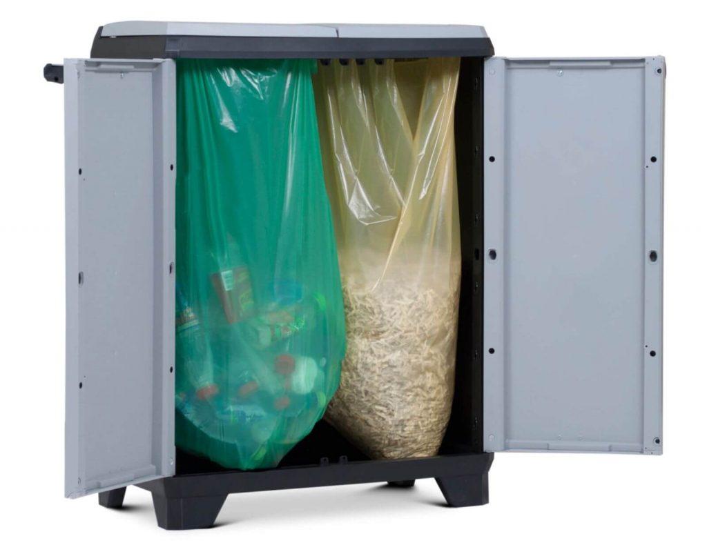Szafa do segregowania odpadów Split Premium