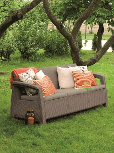 kącik wypoczynkowy w twoim ogrodzie