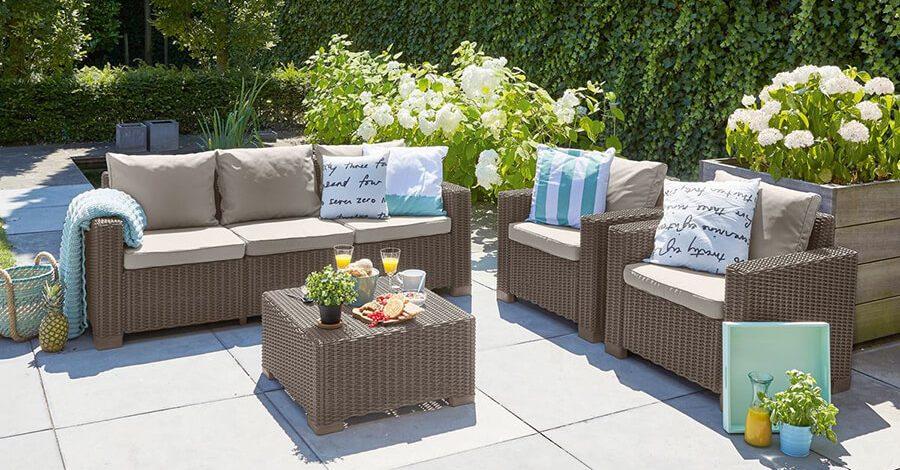 meble ogrodowe z tworzywa sztucznego california