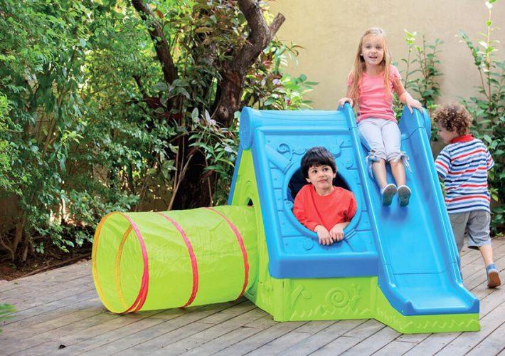 Kącik dla dzieci w ogrodzie