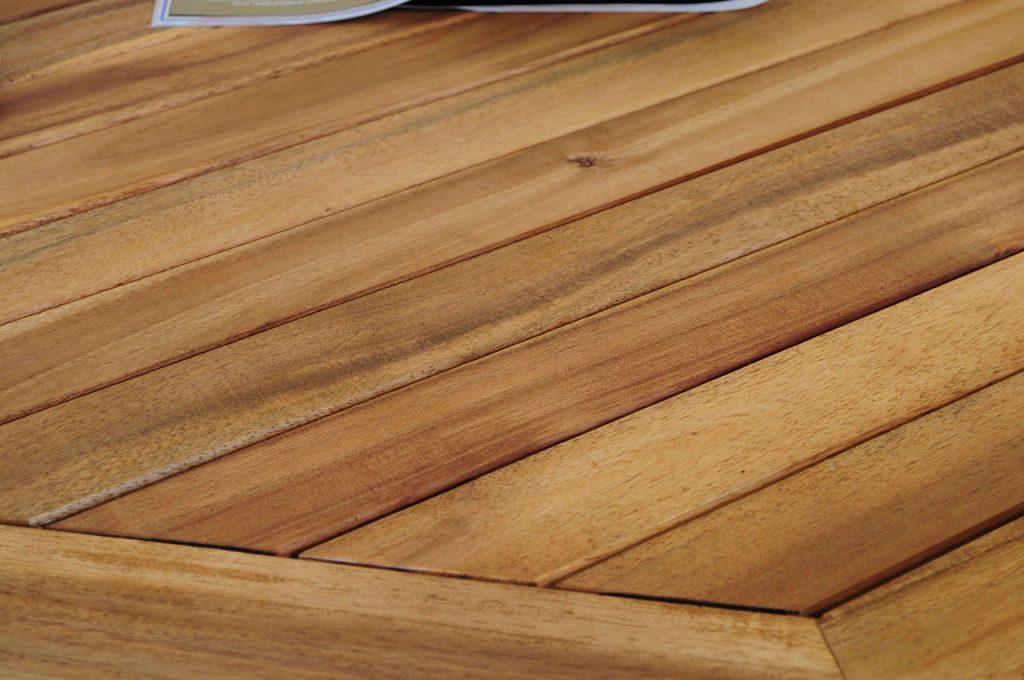 Blat stołu z drewna egzotycznego