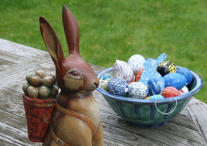 Wielkanoc w ogrodzie - idealne miejsce do świętowania z bliskimi
