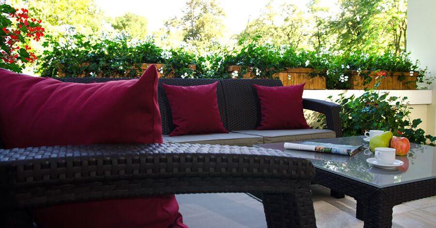 Urlop w ogrodzie, czyli jak odpocząć na tarasie