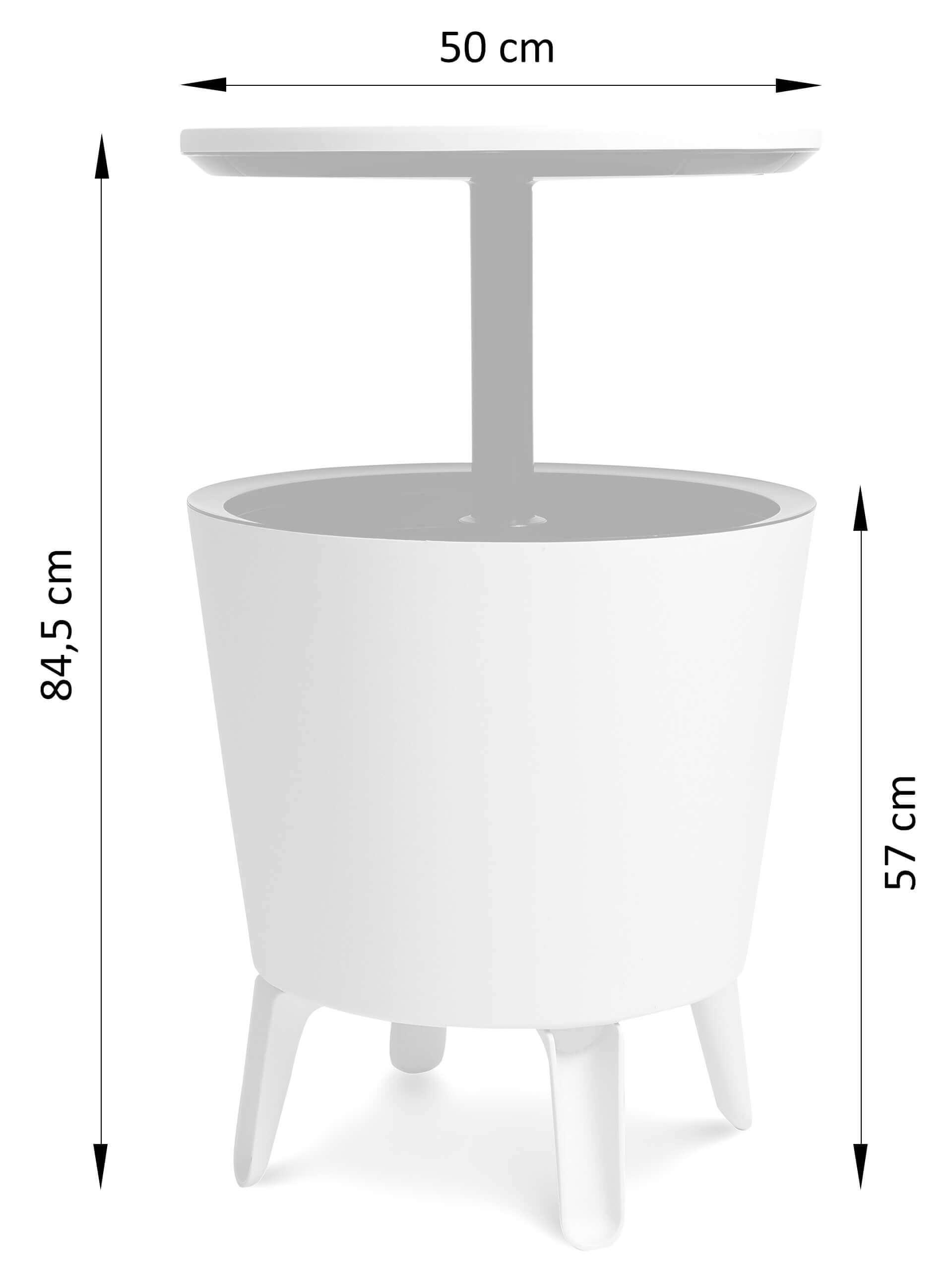 Wymiary stolika Cool Bar